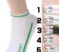 精梳棉(W371)嵊峰曼斯特丽高档女袜子 船袜运动袜